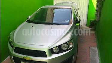 Chevrolet Sonic LS usado (2016) color Plata Brillante precio $143,000