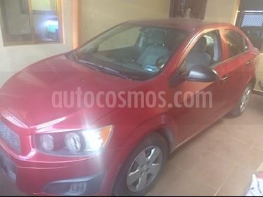 Foto Chevrolet Sonic LS usado (2013) color Rojo Tinto precio $110,000