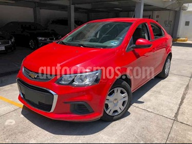 Foto venta Auto usado Chevrolet Sonic LS (2017) color Rojo precio $150,000