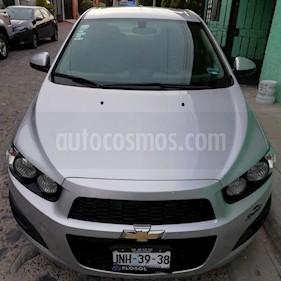 Chevrolet Sonic LS usado (2016) color Gris precio $135,000