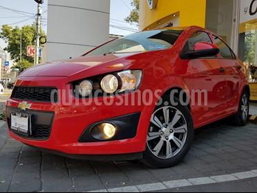 Foto venta Auto usado Chevrolet Sonic LS (2016) color Rojo Tinto precio $160,000