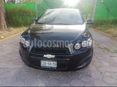 Foto venta Auto usado Chevrolet Sonic LT Aut (2016) color Negro precio $147,000