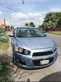 Foto venta Auto usado Chevrolet Sonic LT Aut (2014) color Azul Claro precio $122,700