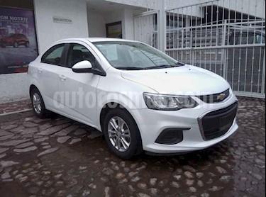 Foto venta Auto usado Chevrolet Sonic LT Aut (2017) color Blanco precio $185,000