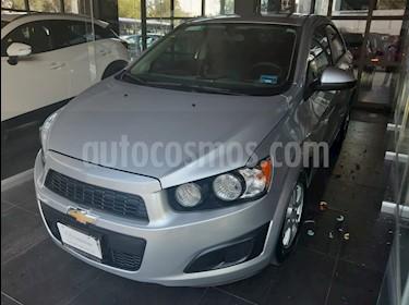 Foto venta Auto usado Chevrolet Sonic LT Aut (2015) color Plata Brillante precio $143,000