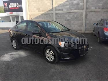 Foto venta Auto usado Chevrolet Sonic LT Aut (2014) color Negro precio $154,000