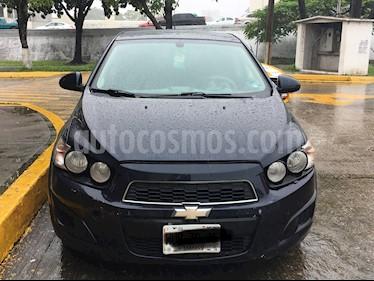 Foto venta Auto Seminuevo Chevrolet Sonic LT Aut (2014) color Azul precio $124,000