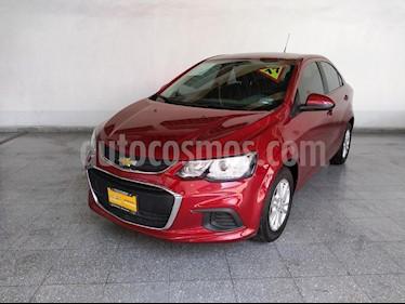 Foto venta Auto Seminuevo Chevrolet Sonic LT Aut (2017) color Rojo precio $190,000