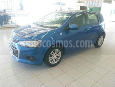 Foto venta Auto usado Chevrolet Sonic LT Aut (2017) color Azul precio $165,000