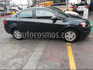 Chevrolet Sonic LT Aut usado (2015) color Gris Ceniza precio $143,000