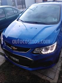 Chevrolet Sonic LT Aut usado (2017) color Azul Electrico precio $163,500
