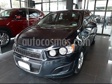 Foto venta Auto usado Chevrolet Sonic LT Aut (2014) color Negro Carbon precio $115,000