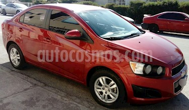 Foto venta Auto usado Chevrolet Sonic LT Aut (2012) color Rojo Tinto precio $129,000