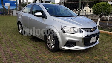 Foto venta Auto usado Chevrolet Sonic LT Aut (2017) color Plata Brillante precio $170,000
