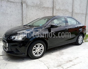 Chevrolet Sonic LT Aut usado (2017) color Negro precio $172,000