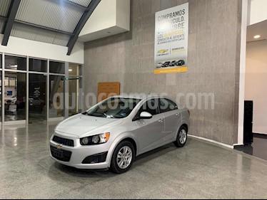 Foto Chevrolet Sonic LT Aut usado (2014) color Plata precio $129,000