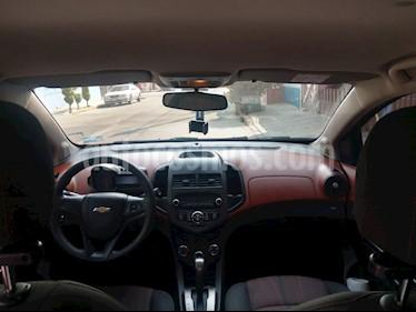 Chevrolet Sonic LT Aut usado (2016) color Rojo precio $130,000