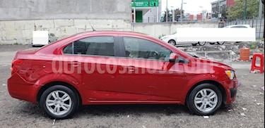 Chevrolet Sonic LT Aut usado (2014) color Rojo Tinto precio $125,000