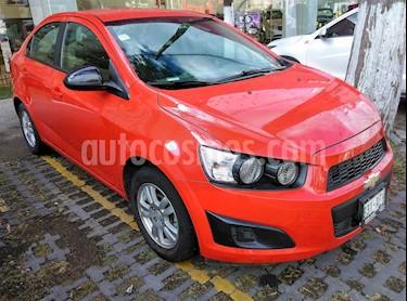 Foto venta Auto Seminuevo Chevrolet Sonic LT Aut (2016) color Rojo precio $149,000