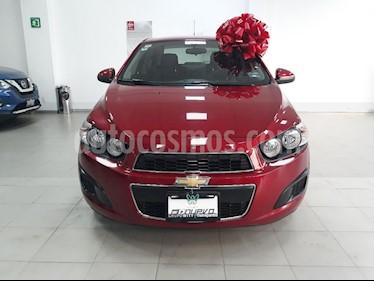 Foto venta Auto usado Chevrolet Sonic LT Aut (2014) color Rojo precio $144,999