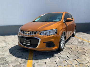 Foto venta Auto usado Chevrolet Sonic LT HB Aut (2017) color Naranja precio $175,000