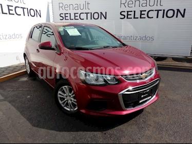 Foto venta Auto usado Chevrolet Sonic LT HB Aut (2017) color Rojo Tinto precio $176,000