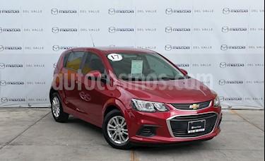 Foto Chevrolet Sonic LT HB Aut usado (2017) color Rojo Tinto precio $190,000