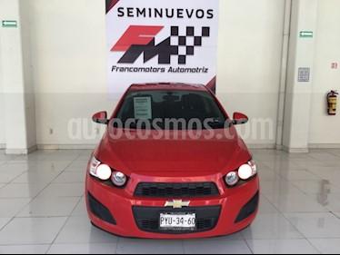 Foto venta Auto usado Chevrolet Sonic LT HB (2016) color Rojo precio $160,000