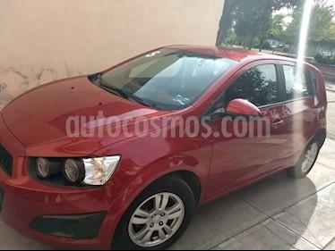 Foto venta Auto usado Chevrolet Sonic LT HB (2016) color Rojo Tinto precio $148,000