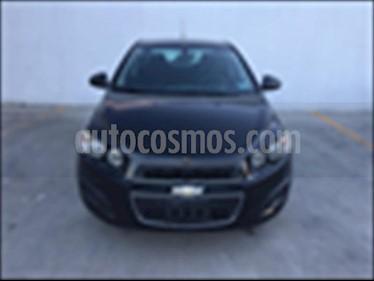 Foto venta Auto usado Chevrolet Sonic LT MANUAL (2014) color Negro precio $120,000