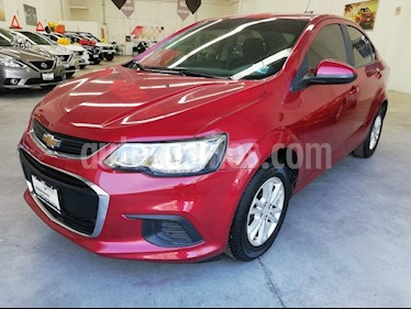 Foto venta Auto usado Chevrolet Sonic LT (2017) color Rojo Tinto precio $182,000