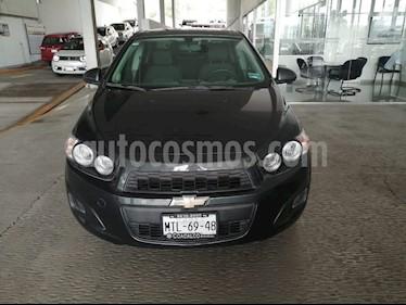 Foto venta Auto usado Chevrolet Sonic LT (2015) color Azul Naval precio $155,000