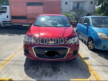 Chevrolet Sonic LT usado (2017) color Rojo Tinto precio $145,000