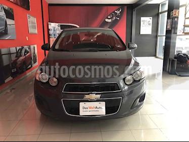 Foto venta Auto usado Chevrolet Sonic LT (2013) color Gris precio $95,000
