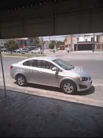 Chevrolet Sonic LT usado (2014) color Plata precio $98,000