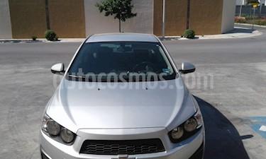 Foto venta Auto usado Chevrolet Sonic LT (2016) color Plata precio $120,000