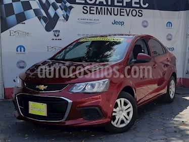 Foto venta Auto usado Chevrolet Sonic LT (2017) color Rojo Tinto precio $189,000