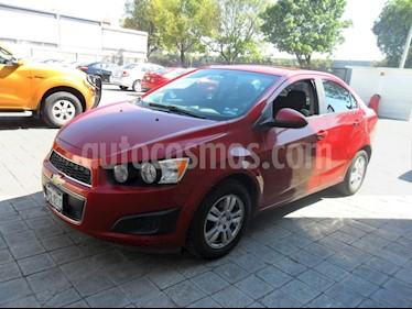 Foto venta Auto Seminuevo Chevrolet Sonic LT (2014) color Rojo Tinto precio $130,000