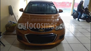 Chevrolet Sonic LT usado (2017) color Naranja precio $170,000
