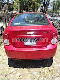Foto Chevrolet Sonic LT usado (2016) color Rojo precio $160,000