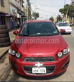 Chevrolet Sonic LT usado (2013) color Rojo Tinto precio $100,000