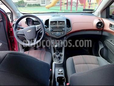 Chevrolet Sonic LT usado (2016) color Rojo Tinto precio $149,000