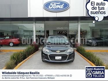 Foto venta Auto usado Chevrolet Sonic LT (2017) color Gris precio $167,000