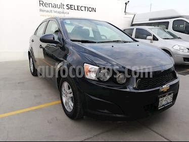 Foto venta Auto usado Chevrolet Sonic LT (2015) color Gris precio $140,000