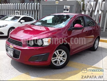 Foto venta Auto usado Chevrolet Sonic LT (2013) color Rojo Tinto precio $125,000