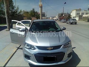 Chevrolet Sonic LT usado (2017) color Plata Brillante precio $175,000