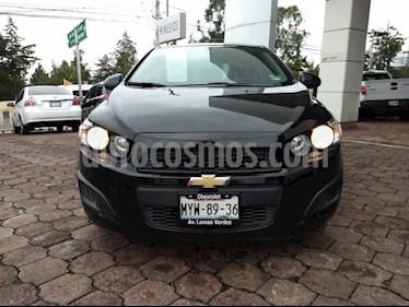 Foto venta Auto usado Chevrolet Sonic LT (2016) color Negro precio $168,000