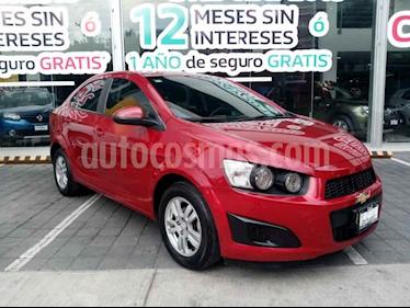Foto venta Auto usado Chevrolet Sonic LT (2016) color Rojo precio $155,000