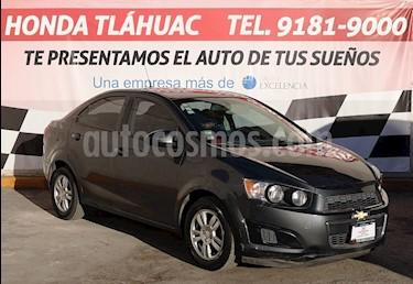 Foto venta Auto usado Chevrolet Sonic LT (2013) color Gris Oxford precio $135,000