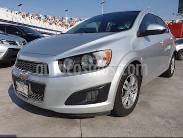 Foto venta Auto usado Chevrolet Sonic LT (2014) color Plata precio $125,000